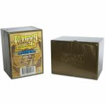 Deck Box  Dragon Shield Gaming Box - Rigide Or - 100 Cartes