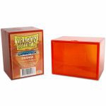 Deck Box  Dragon Shield Gaming Strong Box - Rigide Orange - 100 Cartes
