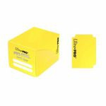 Deck Box  Pro-dual Small Deck Box - Jaune - 120 cartes