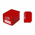 Deck Box  Pro-dual Small Deck Box - Rouge - 120 cartes