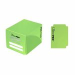 Deck Box  Pro-dual Small Deck Box - Vert Clair (Light Green) - 120 cartes