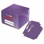 Deck Box  Pro-dual Deck Box - Violet (180 cartes)