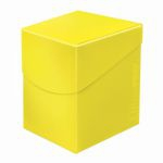 Deck Box  Deck Box Ultrapro 100+ (grande Taille) - Jaune
