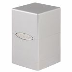 Deck Box  Satin Tower Deck Box Blanc
