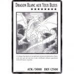 Cartes Spéciales Yu-Gi-Oh! DUOV - Carte Géante Jumbo - Dragon Blanc aux Yeux Bleus