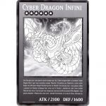 Cartes Spéciales Yu-Gi-Oh! DUOV - Carte Géante Jumbo - Cyber Dragon Infini