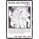 Cartes Spéciales Yu-Gi-Oh! DUOV - Carte Géante Jumbo - Guide des Enfers