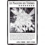 Cartes Spéciales Yu-Gi-Oh! DUOV - Carte Géante Jumbo - Les Magiciens des Ténèbres