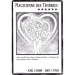 Cartes Spéciales Yu-Gi-Oh! DUOV - Carte Géante Jumbo - Magicienne des Ténèbres