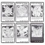 Cartes Spéciales Yu-Gi-Oh! DUOV - Lot des 6 Cartes Géantes Jumbo