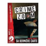 Jeu de Cartes Enquête CRIME ZOOM - Sa Dernière Carte