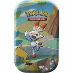 Pokébox Pokémon Mini Tin Les Amis de Galar - Flambino & Pikachu
