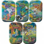 Pokébox Pokémon Mini Tin Les Amis de Galar - Lot de 5