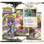 Coffret Pokémon Tripack 3 Boosters - EB02 - Épée et Bouclier 2 Clash des Rebelles - Rayquaza