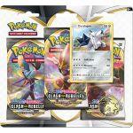 Coffret Pokémon Tripack 3 Boosters - EB02 - Épée et Bouclier 2 Clash des Rebelles - Duralugon
