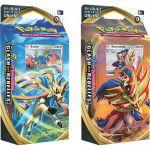 Decks Préconstruits Pokémon EB02 Epée et Bouclier 2 Clash des Rebelles - Lot de 2 Decks - Zamazenta & Zacian