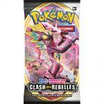 Booster en Français Pokémon EB02 - Épée et Bouclier 2 Clash des Rebelles