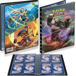 Portfolios Pokémon EB02 - Clash des Rebelles - Gorythmic/Zacian-Zamazenta (10 Feuilles De 4 Cases 80 Cartes)