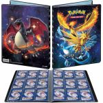 Portfolio Pokémon Dracaufeu & Artikodin/Sulfura/Electhor - A4 - 9 Cases