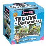 Jeu de Cartes Réflexion BrainBox: Trouve les Différences - Les vacances