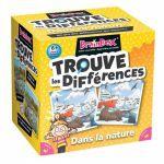 Jeu de Cartes Réflexion BrainBox: Trouve les Différences - Dans la nature
