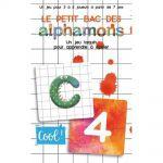 Réfléxion Enfant Le Petit Bac des Alphamons