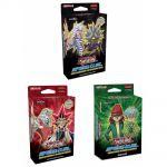 Decks de Démarrage Yu-Gi-Oh! Lot de 3 Speed Duel : Le Match du Millénium & Les Cauchemars Tordus & Predateurs Ultimes