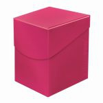 Deck Box  Deck Box Ultrapro Eclipse 100+ (grande Taille) - Rose Vif (Hot Pink)