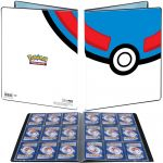 Portfolios Pokémon Super Ball - 180 cartes (9x10 pages)