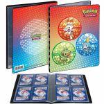 Portfolios Pokémon Flambino, Ouistempo et Larméléon (10 Feuilles De 4 Cases 80 Cartes)