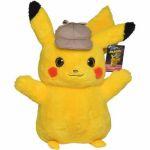 Peluches Pokémon Peluche Pokemon Pikachu Détective Pikachu 40cm