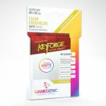 Protèges Cartes Standard KeyForge 40 Pochettes Exoshields Transparent Matte