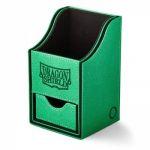 Boite de Rangement  Nest 100+ Deck Box Dice Tray - Vert/Noir