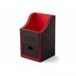 Boite de Rangement  Nest 100+ Deck Box Dice Tray - Noir/rouge