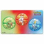 Tapis de Jeu Pokémon Flambino, Ouistempo et Larméléon