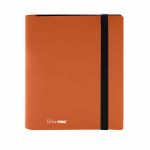 Portfolios  Pro-binder - Eclipse - Orange Citrouille (Pumpkin Orange) - 160 Cases (20 Pages De 8 Cases)