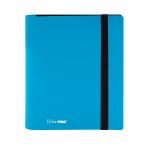 Portfolio  Pro-binder - Eclipse - Bleu Ciel (Sky Blue) - 160 Cases (20 Pages De 8 Cases)
