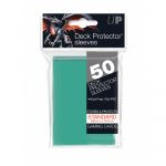 Protèges Cartes Standard  Sleeves Ultra-pro Standard Par 50 Vert Aquatique