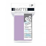Protèges Cartes Format JAP  Sleeves Ultra-pro Mini Par 60 Lilac Matte