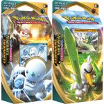 Decks Préconstruits Pokémon EB03 Epée et Bouclier 3 Ténèbres Embrasées - Lot de 2 Decks - Duramacho de Galar & Palarticho de Galar