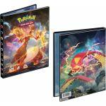 Portfolios Pokémon EB03 - Ténèbres Embrasées - Dracaufeu VMAX & Scolocendre VMAX (10 Feuilles De 4 Cases 80 Cartes)