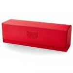 Boite de Rangement  Magic Carpet - Cuir Rouge/Noir