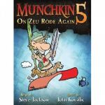 Jeu de Cartes Best-Seller Munchkin 5 : On Zeu Rode Again