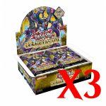 Boites Boosters Français Yu-Gi-Oh! Boite De 24 Boosters - La Rage Fantôme - Lot de 3