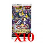 Boosters en Français Yu-Gi-Oh! La Rage Fantôme - Lot de 10