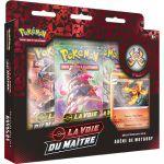 Coffret Pokémon EB3.5 La Voie du Maître - Coffret Pin's : Arène de Motorby
