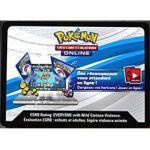 Cartes à Code Pokémon Lot De 20 Cartes À Code Pokemon Online - EB03 Ténèbres Embrasées