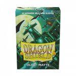 Protèges Cartes Format JAP  Dragon Shield Sleeves Mini Matte - Olive - par 60