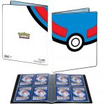 Portfolios Pokémon Super ball (10 Pages De 4 Cases)