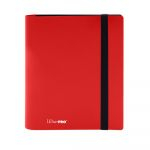 Portfolio  Pro-binder - Eclipse - Rouge pomme (Apple Red) - 160 Cases (20 Pages De 8 Cases)